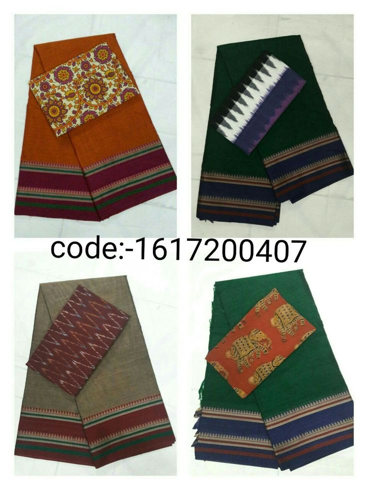"""Grab this Handloom """"Narayanpet sarees"""" stood out in simple design in contemporary shades with """"ikat"""" blouse Mrp- Rs 955/  (for trade inquiries please contact our whatsapp no  Single / Retail Customer ...please contact 8099433433 B2B/Resellers/Bulk buyers...please contact 8801302000)"""