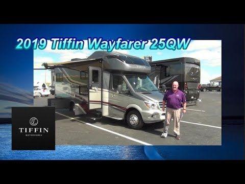 New 2019 Tiffin Motorhome Wayfarer 25qw Mount Comfort Rv