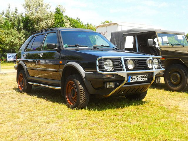 Volkswagen Golf Country Syncro (1991)