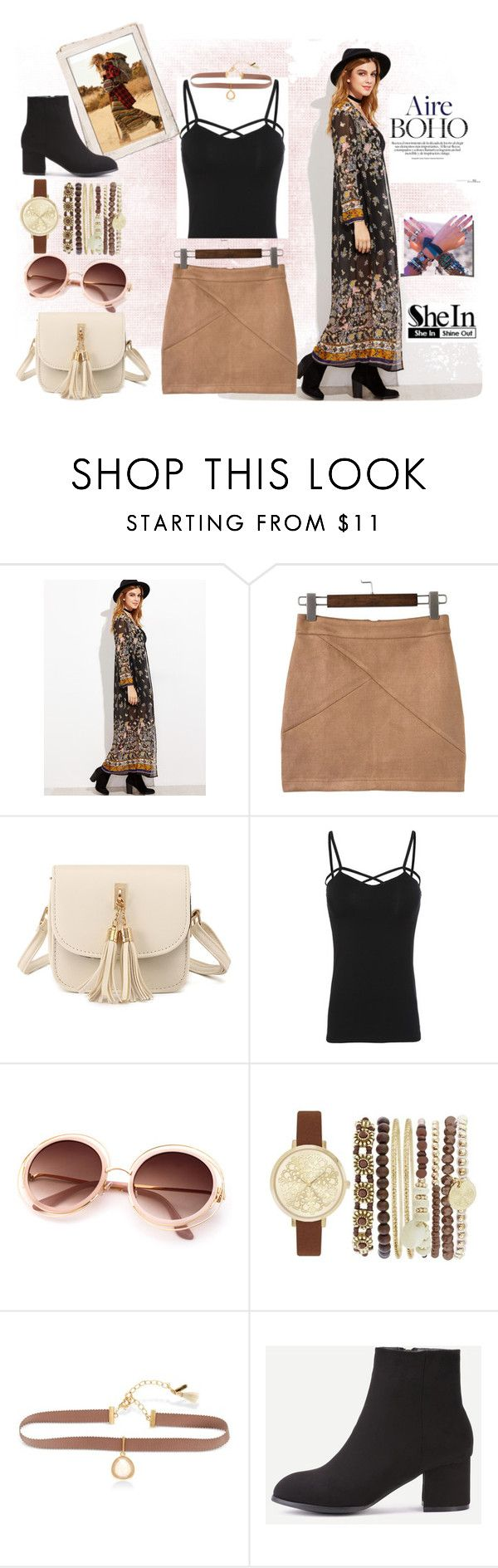 """Boho"" by kat-van-d ❤ liked on Polyvore featuring Jessica Carlyle, Lonna & Lilly, Gipsy and shein"