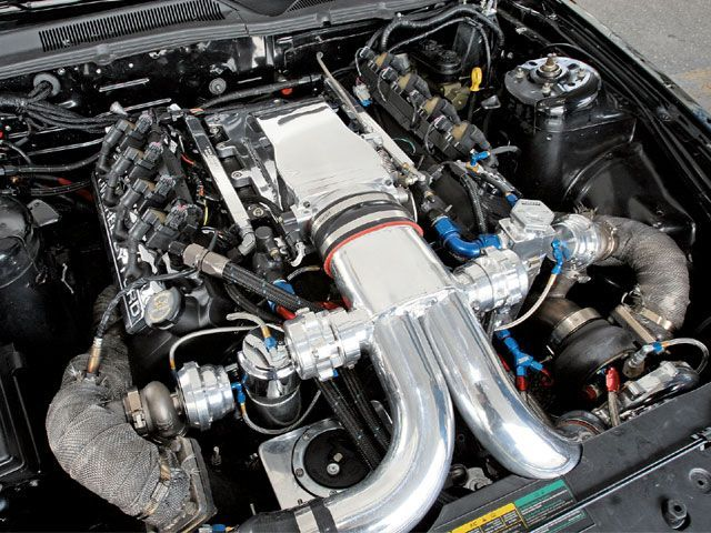Shelby Mustang Gt500 Engine
