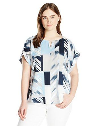 Happy mother's day! Buy the best gift for your lovely mother at the cheapest price ever! Calvin Klein Women's Plus-Size S/Mix Media with Hardware