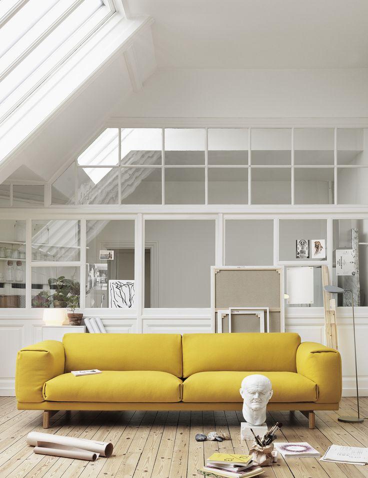Die besten 25+ Blaues Samtsofa Ideen auf Pinterest graues - wohnzimmer grun gelb