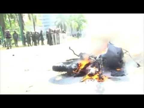 Así está la situación entre manifestantes y GNB/PNB en Barquisimeto