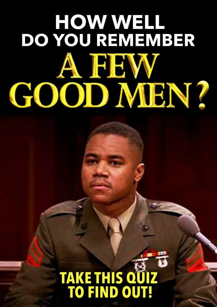Few Good Men Quotes 10 Best 'a Few Good Men' Quiz Images On Pinterest