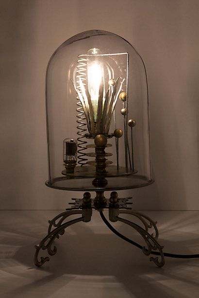 The Bell Jar LampDecor, Bell Jars, Belle Jars, Home Lights, Inspiration Ideas, Anthropologie Com, Jars Ideas, Jars Lamps, Kerplunk Belle