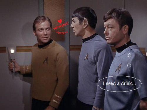 aldora89:    I need a drink…by~InnocentRedShirt
