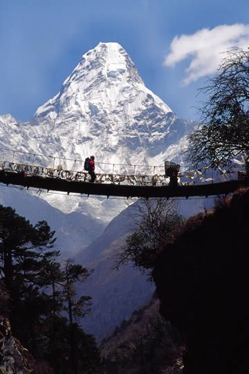 A nice view of Mount Everest.