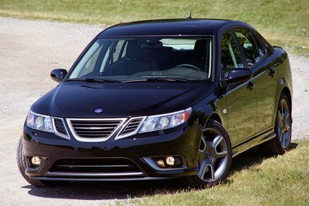 Chastity's favorite car! Saab sedan