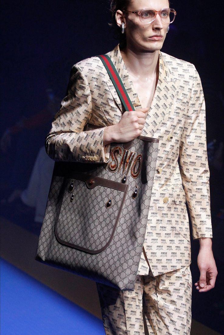 Sfilata Gucci Milano - Collezioni Primavera Estate 2018 - Dettagli - Vogue