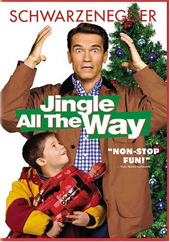 """Jingle All The Way"" is a must watch movie for the holidays # love this movie # childhood # bring me back."