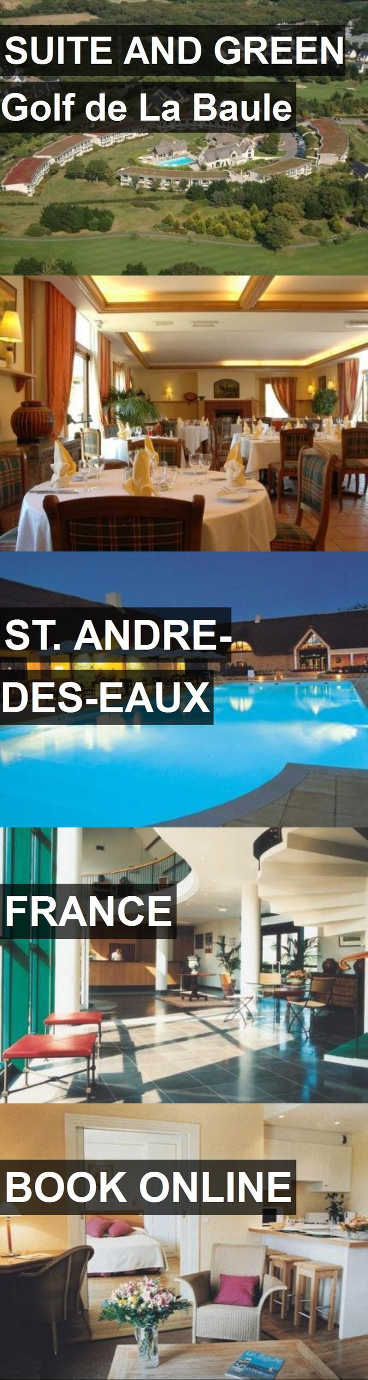 Hotel SUITE AND GREEN Golf de La Baule in St. Andre-des-Eaux, France. For more information, photos, reviews and best prices please follow the link. #France #St.Andre-des-Eaux #SUITEANDGREENGolfdeLaBaule #hotel #travel #vacation