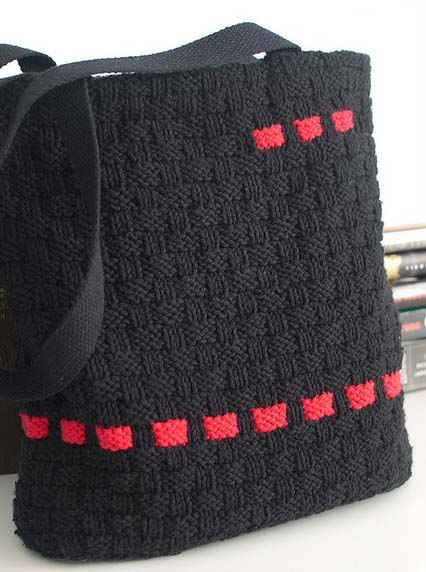 "the collection ""autumn-winter"" bags, crocheted and knitted"