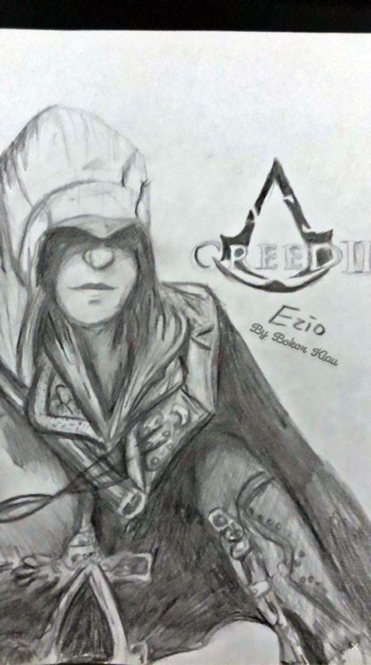 Ezia - Assassins Creed II by Bokor Klaudia