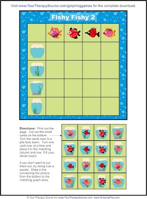 Free Graphing Game - Pinned by @PediaStaff – Please Visit http://ht.ly/63sNt for all our pediatric therapy pins