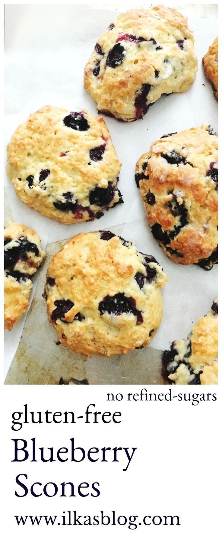 Gluten-free scones. Made with no refined sugars! Perfect for Sunday Brunch!