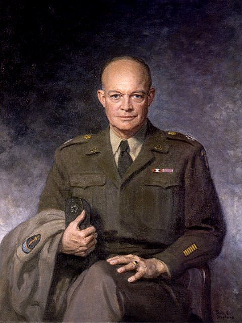 Prior to becoming President of the United States, General Dwight D. Eisenhower was the Supreme Allied Commander in Europe during the Second World War. He was instrumental in planning the successful invasion of Occupied Europe in 1944, better known as D-Day.