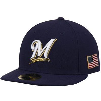 Milwaukee Brewers New Era Authentic Collection On-Field 59FIFTY Low Profile…
