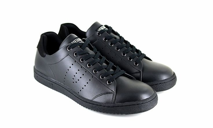 Veganer Sneaker   VEGETARIAN SHOES Kemp Sneaker Black