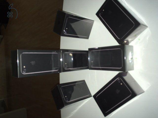 EXKLUZÍV - MAGYARORSZÁGON CSAK ITT KAPHATÓ! iPhone 7 JET BLACK 128GB ÉS 256GB MODELLEK!Sehol nem kapható típusok!AZONNAL ÁTVEHETŐK BUDAPESTEN!1 ÉV GYÁRI APPLE GARANCIÁVAL BONTATLANUL!Európai modellek, GYÁRILAG KÁRTYAFÜGGETLENEK!128 GB: 289.900 HUF256 GB: 329.900 HUF HÍVJ NON-STOP!