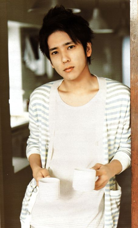 Kazunari Ninomiya. OMy gosh!!!!!! I need a man exactly like him :D