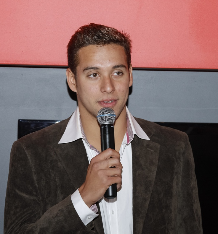 Chad Le Clos helps us open our 100th club