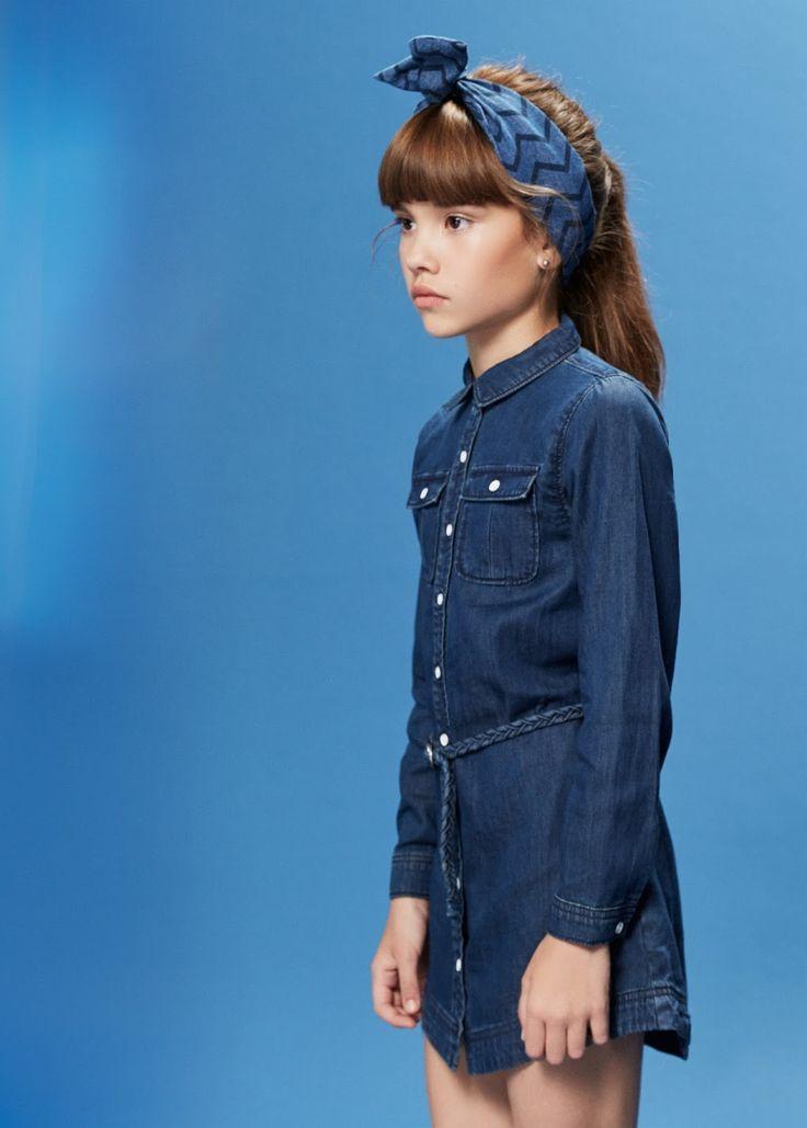 Total look denim #MangoKids #ministyle #fashionkids #ootd #lookoftheday #trendychildren #coolkidsclothes #littlefashionistascloset #childrenswear #ministyle #kidstyle #kidgirl #kidstreetstyle #modainfantil #modaniña #modaniña
