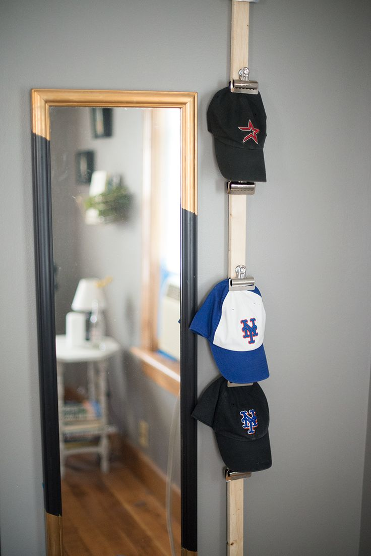 White baseball caps for crafts - Diy Baseball Cap Storage