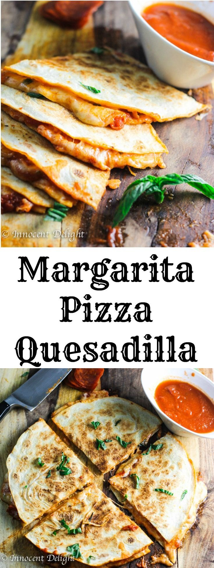Margarita Pizza Quesadilla combine two of the most popular Italian and Mexican dishes – pizza and quesadillas. Listen, if 1 is good…2 is better!