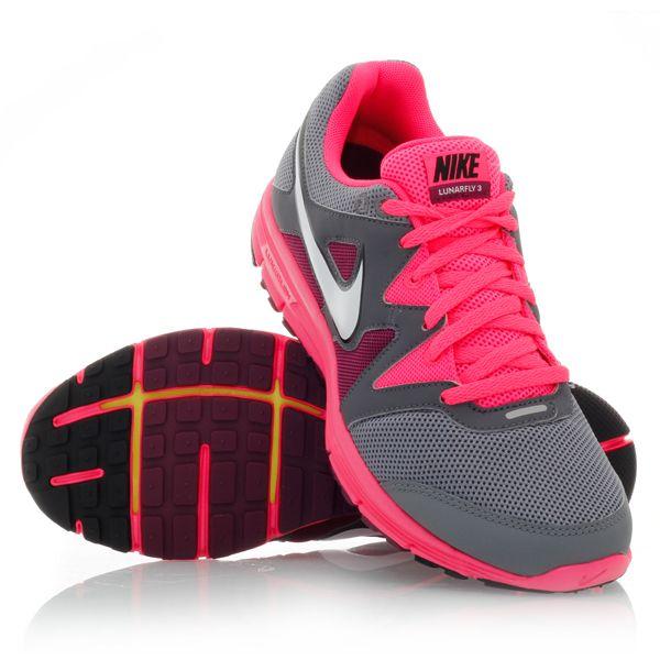 Buy Nike LunarFly+ 3 - Womens Running Shoes - Pink/Grey | Slashsport Shop