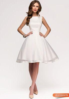 Vestidos sencillos para bodas por civil