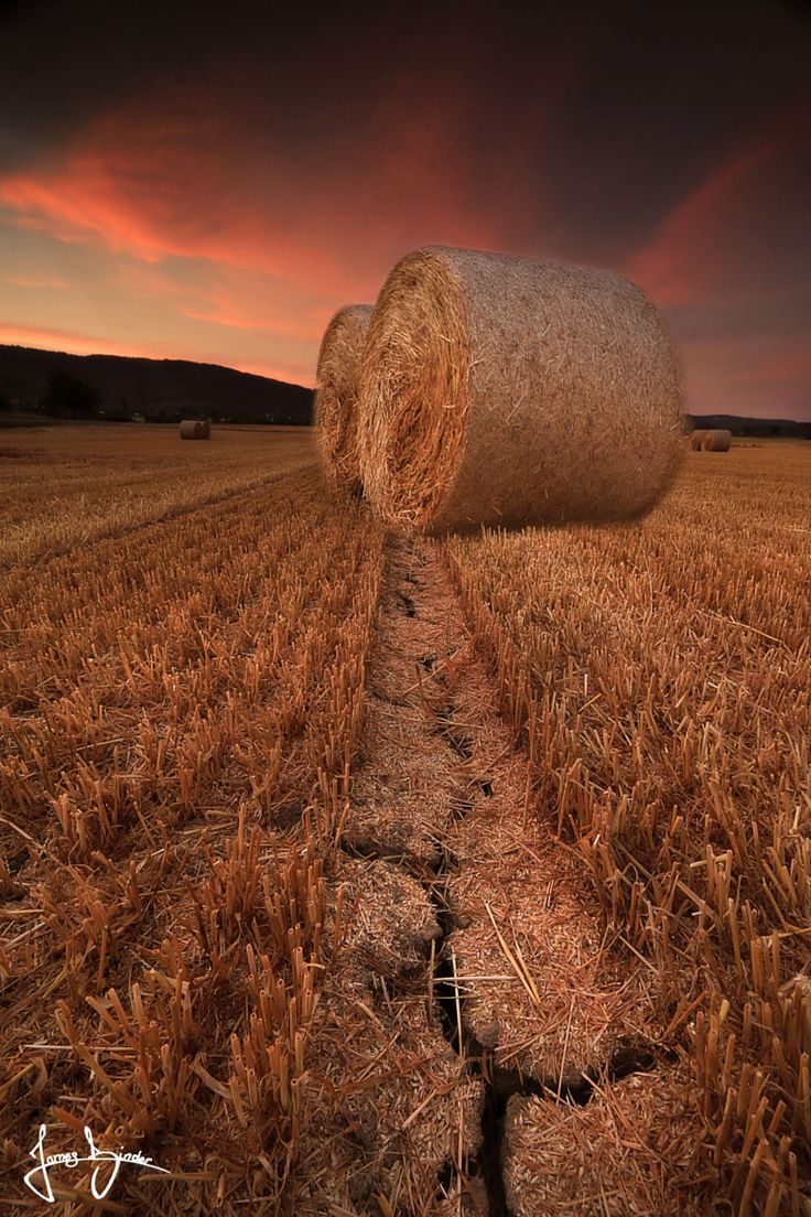 Ethereal landscapes nature photography by donna geissler - Photograph Hay Sunset By James Binder On 500px
