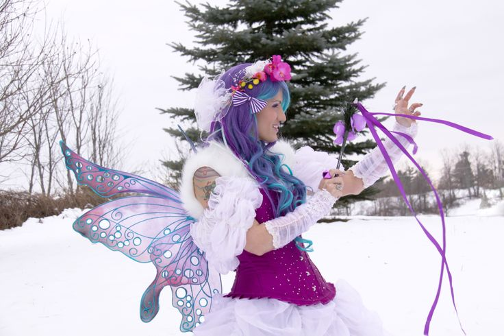 a winter fairy's spell