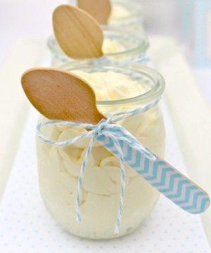 Glass Dessert Jar   4oz - $2.15