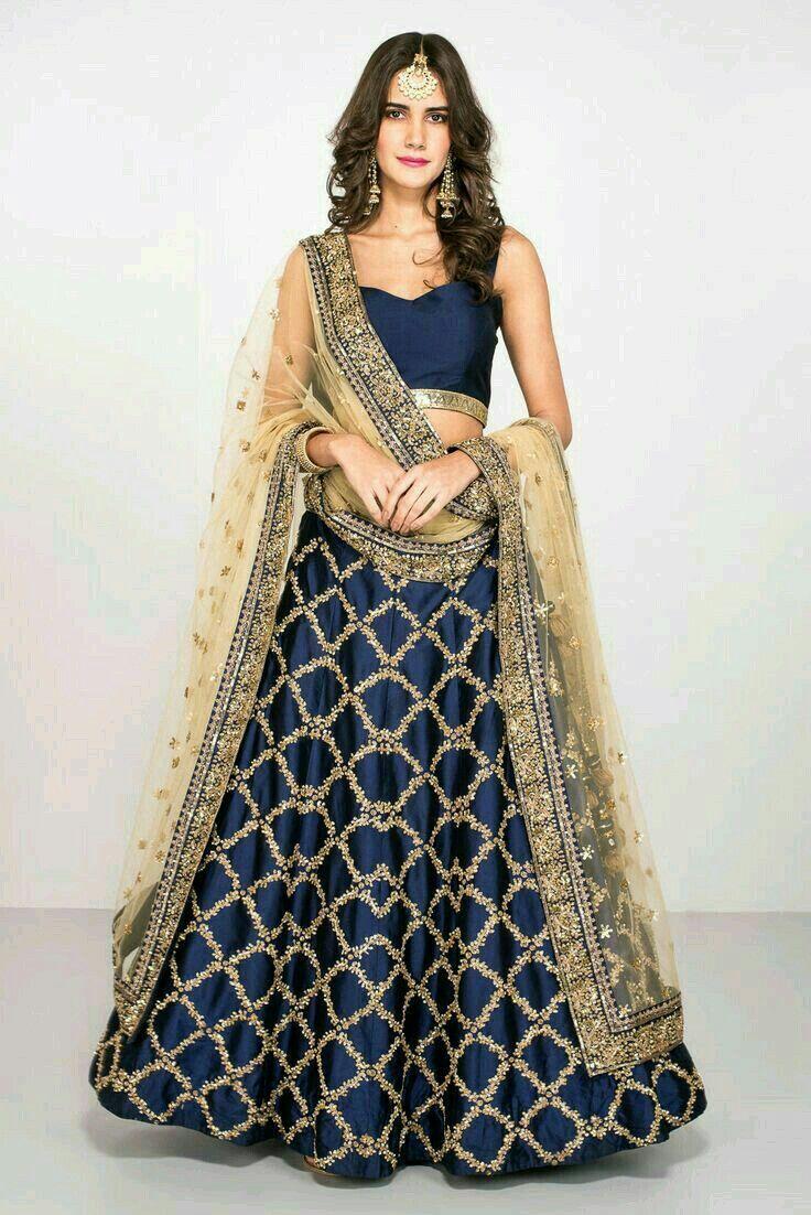 19 besten lehenga Bilder auf Pinterest | Indien mode, Brautkleider ...