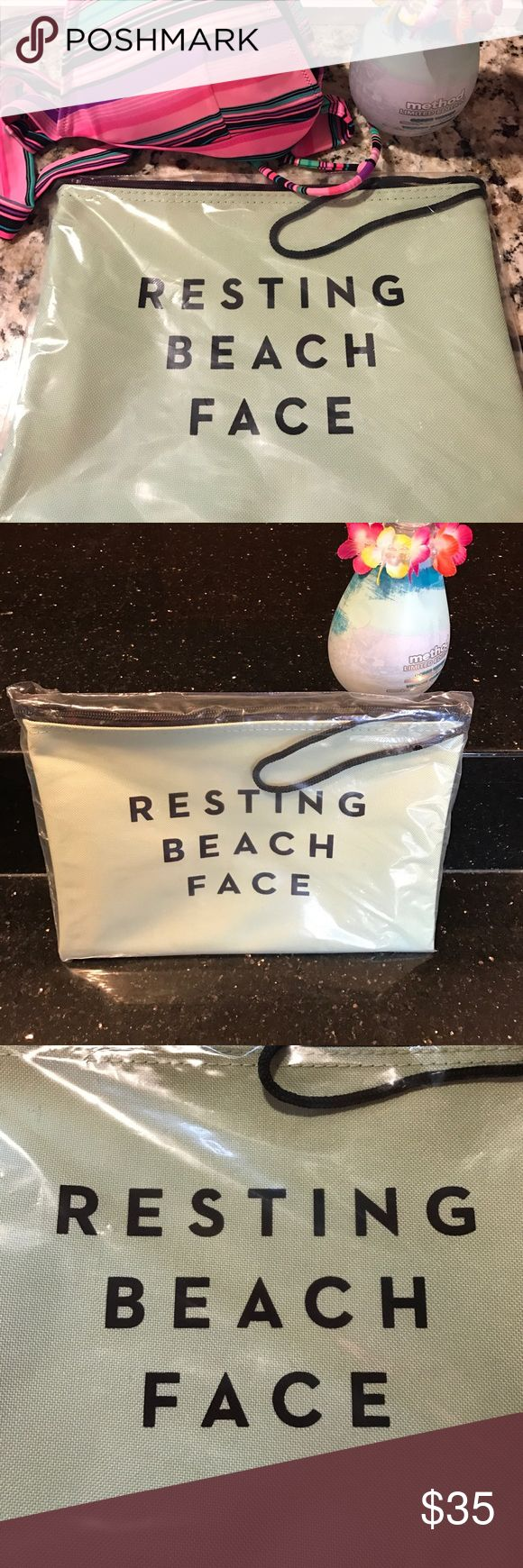Milly Zip Pouch in original packaging Spring break and summer mean traveling with wet suits are inevitable. Keep your suits safe and away from other valuables with this water resistant bag! It also makes a great bag to hold your liquid beauty products! Milly Accessories
