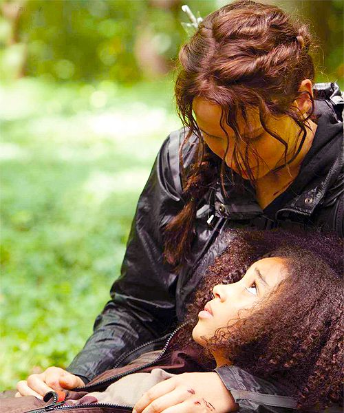 Another Hunger Games still: this is when I started crying. I cried like a baby on this scene!!