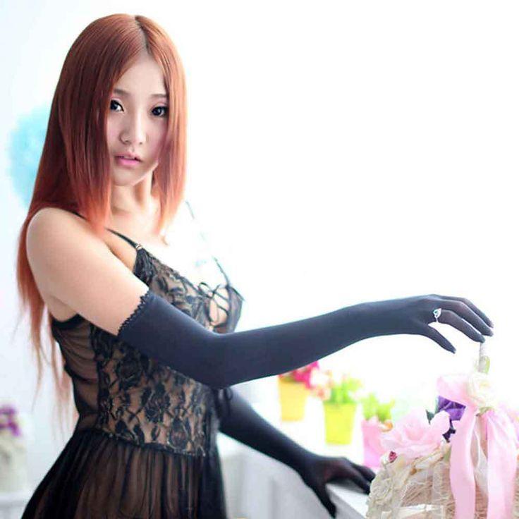 Aliexpress.com: Comprar Encaje de Nylon Pantyhose inconsútil mujer guantes manopla de color mujeres tentación noche guantes mitones de significado de la manopla fiable proveedores en Shenzhen Yitong Technology CO.,Ltd