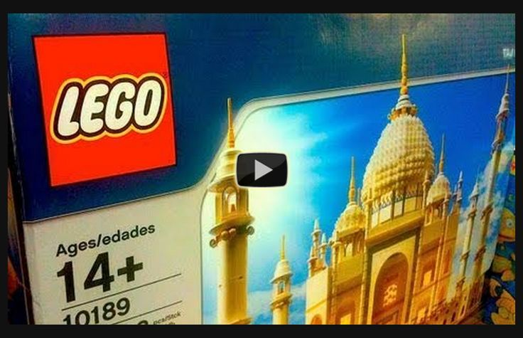 Check out this short video about the largest Lego set EVER made. Lego's Taj Mahal set number 10189 contains 5922 pieces and the instruction manual is 74 pages long! #lego #tajmahal #biggest