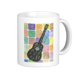Caneca violão. Preço: R$ 30,00