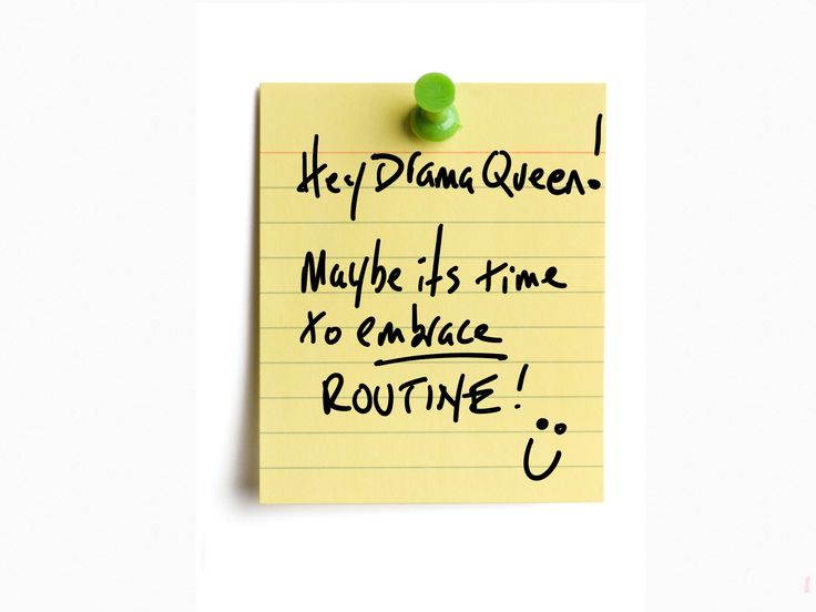 If you don't plan your day someone else will.  http://hughculver.com/hey-drama-queen-maybe-time-embrace-routine/