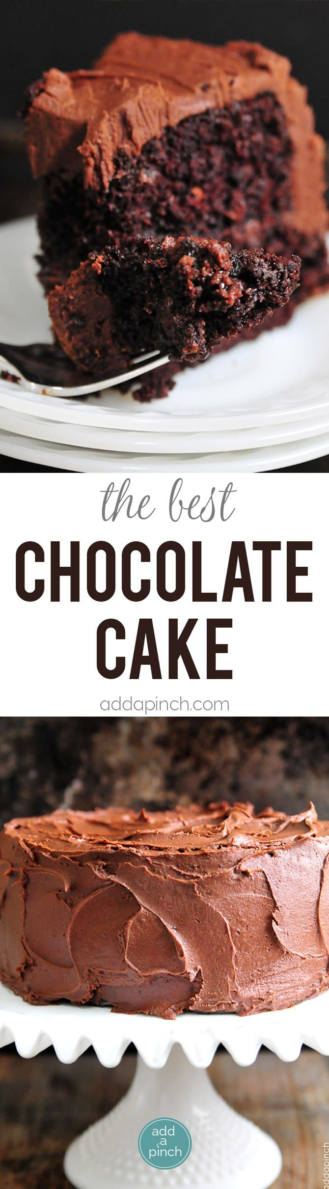 The Best Chocolate Cake Recipe  A one bowl chocolate cake recipe that is quick easy and delicious Updated with glutenfree dairyfree and eggfree options The best chocolate cake recipe Ever There are plenty of claims for the best chocolate cake recipe I get that But with one bite of this decadent moist chocolate cake