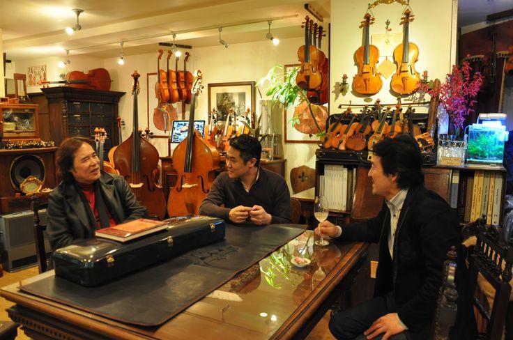 徳永二男先生と小森谷巧先生