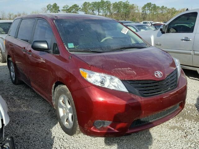 Salvage 2013 Toyota Sienna  Van For Sale | Flood Title