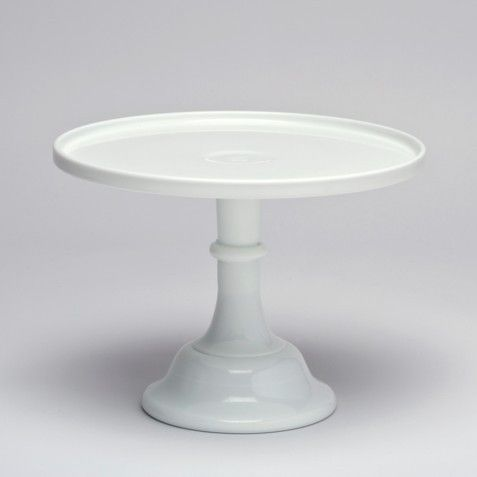 24 cm Milk Glass Cake Stand – White. available at www.theprettybaker.co.nz #motherday #nzbakingsupplies #nzpartysupplies #welovetoparty
