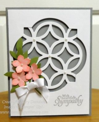Petite Petals meets Lattice Bigz Die-cr I have seen this on you tube using Artbooking CTMH cartridge for the lattice background.  Great idea.