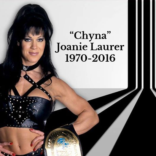 Former WWE star Joanie Laurer, better known as Chyna, died on Wednesday at the age of 45, Redondo Beach Police confirmed to ET.
