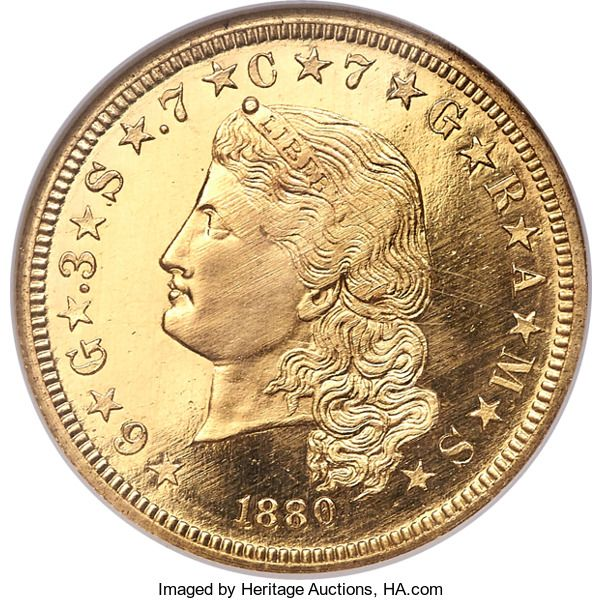 Proof Four Dollar Gold Pieces 1880 4 Judd 1657 Pollock 1857 Pr67 Cameo Ngc Gold Bullion Bars Gold Investments Gold Coins
