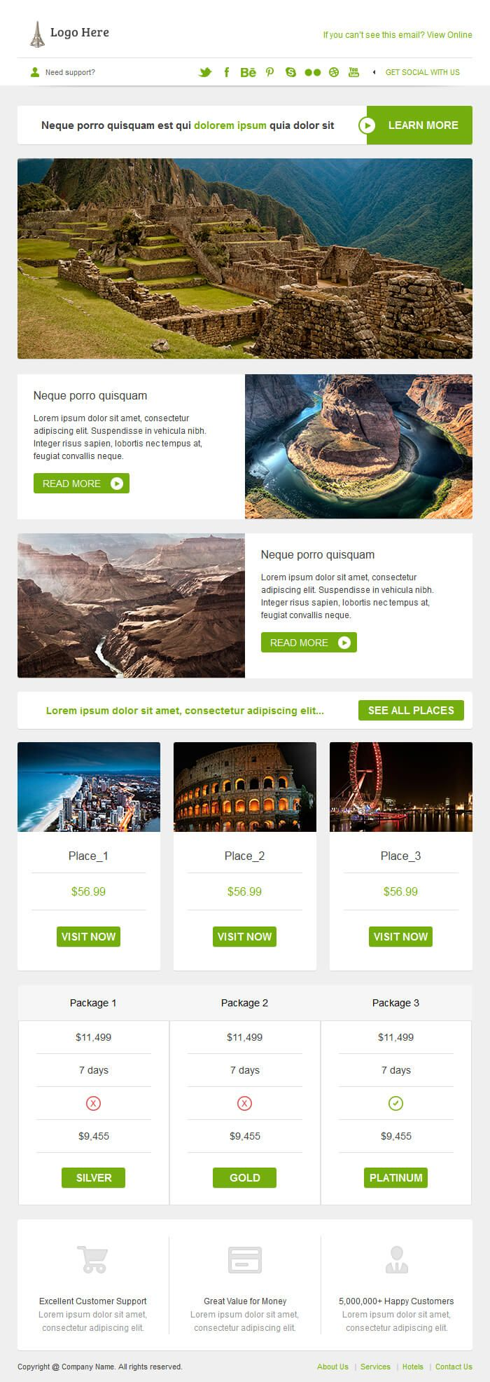 11 best images about REAKH EDM template – Sample Html Email