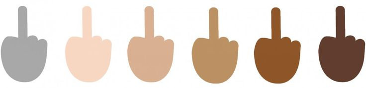Microsoft will let you use the middle-finger emoji even though Apple and Google won't
